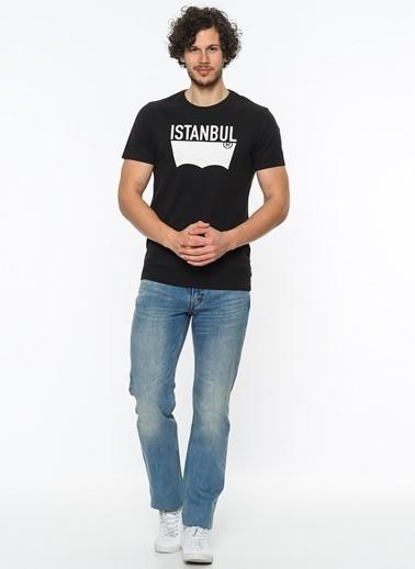 Bisiklet Yaka Baskılı Tişört-Levi's®